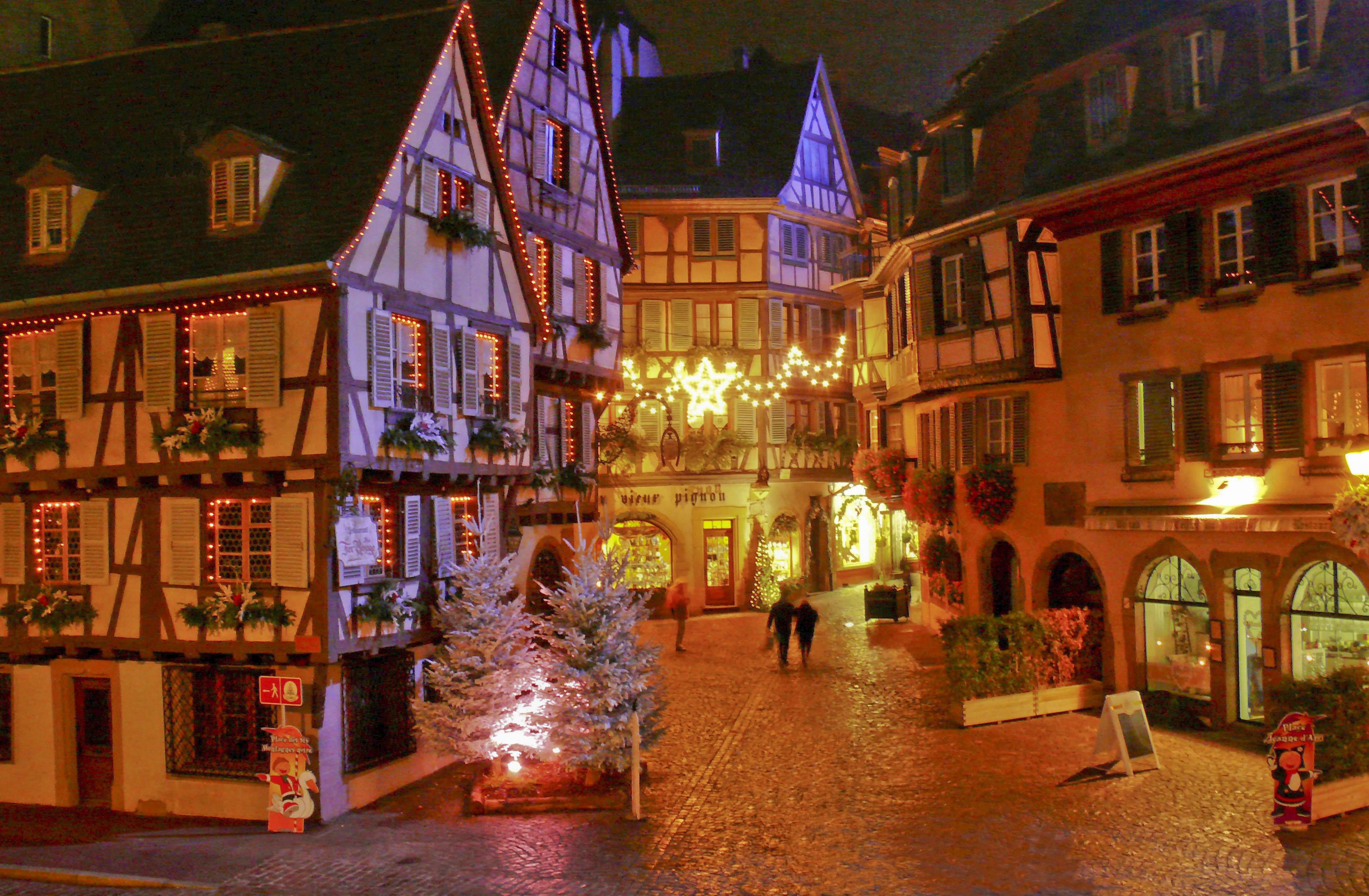 Hotel Colmar Centre Marché De Noel Marchés de Noël à Strasbourg et Colmar   Voyages Buchard