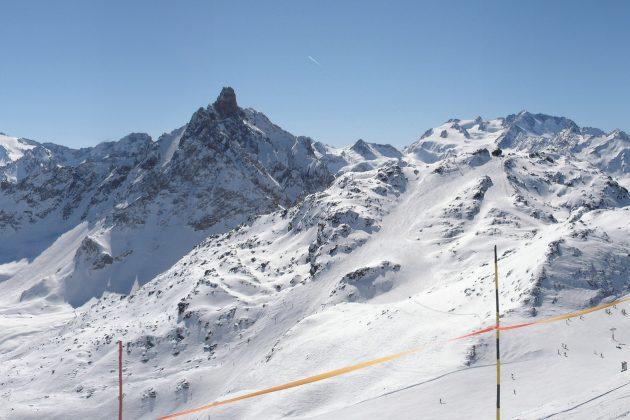 Panorama station ski Courchevel