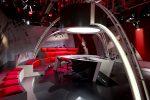 Le plateau vide d'Infrarouge au studio 3