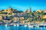 Malta: Mgarr, a harbour town in Gozo island, Mediterranean Sea