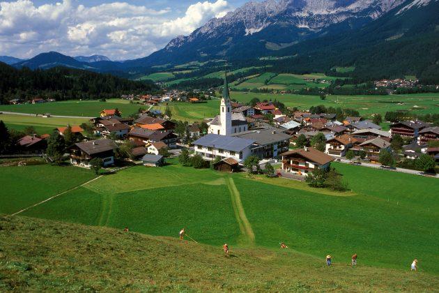 Tirol--Ellmau am wilden Kaiser