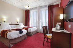 Qualys-Hotel Océane - chambre twin