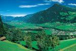 Vue panoramique sur le Zillertal_Hôtel Pachmair