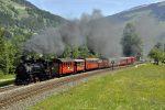 Zillertalbahn- Train à vapeur -Foto-Denoth