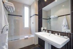 Salle de bain  Chambres Massena Nice