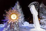 Marché de Noël Nice - neige