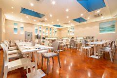 Hôtel Monte Rosa Chiavari - salle petit déjeuner