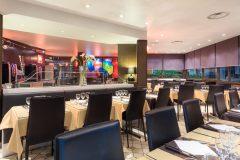 Salle de restaurant hôtel Méditerranée 3* Menton