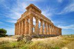 Ruines de temple sicile