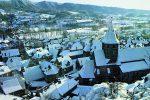 Vic sous la neige - Auvergne