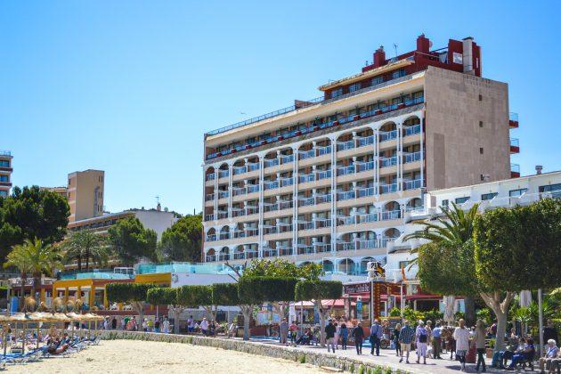 Seramar Hôtel Comodoro - Façade