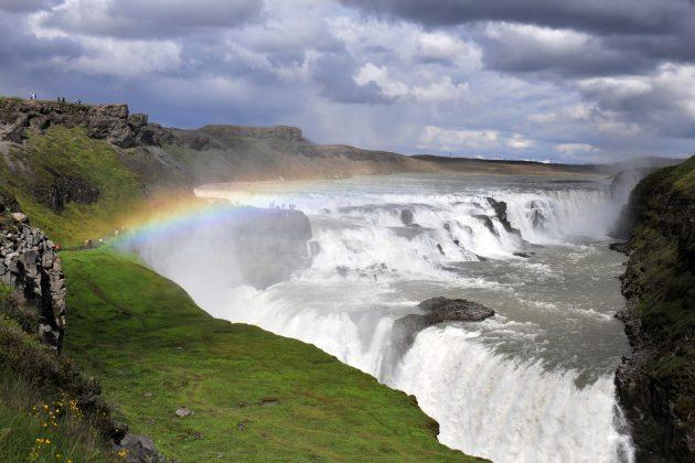 Islande - chute