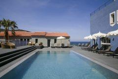 Santa Maria Ile Rousse Corse piscine