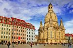Church Frauenkirche in Dresden