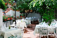Romantik-Hotel - terasse