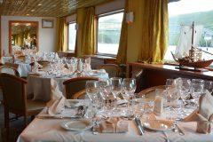 MS Vasco de Gama - restaurant ©Stephane Pfleger